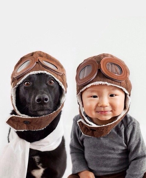 фото ребенка и собаки Украина #МоднаКраина #МоднаКраїна #ModnaKraina