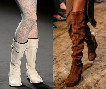 женская обувь, модная осенняя обувь, мода осень-2014