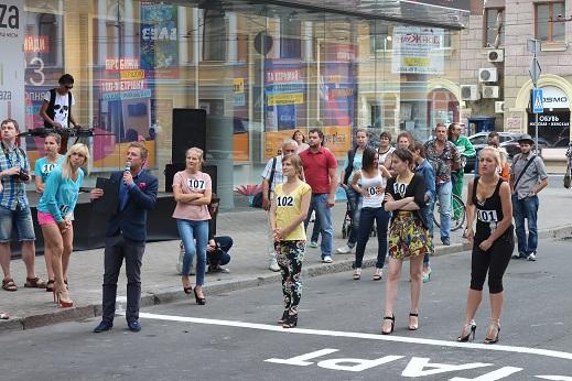 забег на шпильках Харьков украина 2014