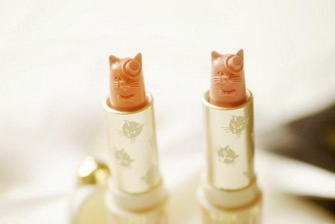помада в виде кошки, Новая помада Paul & Joe's Lipstick