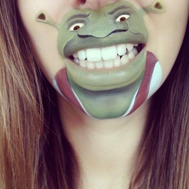 мультяшный макияж Украина