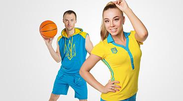 одежда с украинскими национальными символами Украина