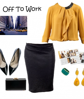 office style look Elfina Украина