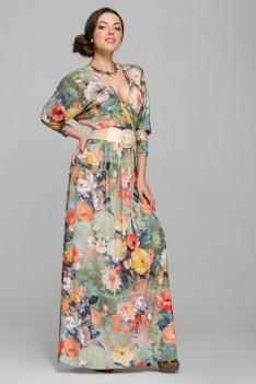 olga egorova flower dress