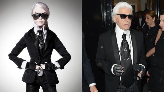 Барби, Лагерфельд, новая кукла Барби, новости моды 2014
