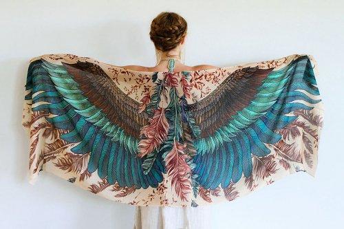 Роза Хамитова, платки, коллекция платков, платки ручной работы, новости моды 2014