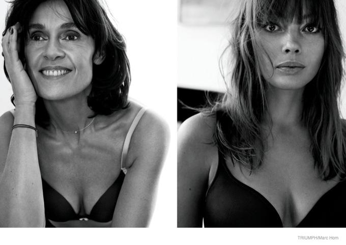 Triumph, реклама ,обычные женщины, новости моды 2014,