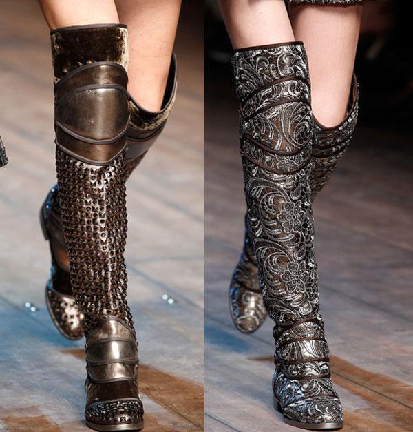 модные сапоги осень 2014-зима 2015, тенденции моды, новости моды 2014,  модная обувь зима 2015