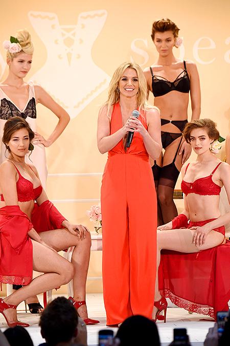 коллекция нижнего белья Бритни Спирс, новая коллекция Бритни Спирс, новости моды 2014