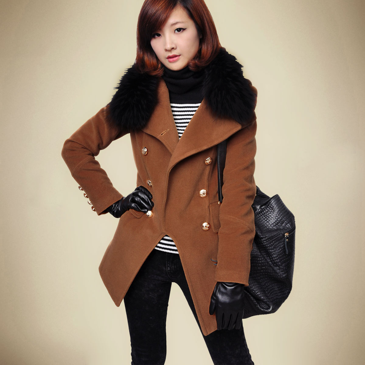 пальто с меховым воротником, как выбрать пальто с меховым воротником, как ухаживать за меховым воротником