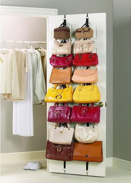 как хранить сумки, хранение сумок, идеи для хранения вещей