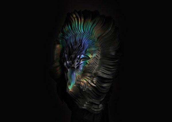 куртка-хамелеон, куртка, меняющая цвет, изменение цвета, новости моды 2014