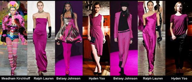 розовый цвет в одежде, сочетание с розовым цветом, с чем носить розовый цвет