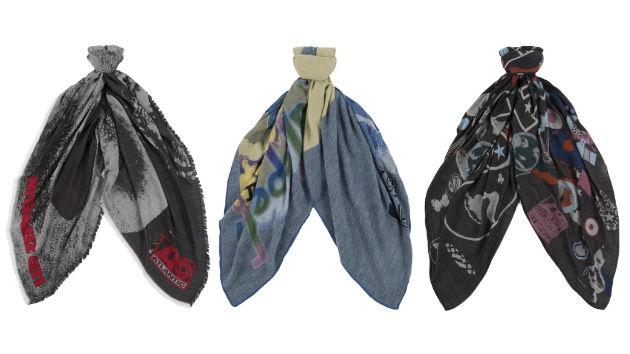 шарфы, Led Zeppelin, Пол Смит, новая коллекция, новости моды 2014