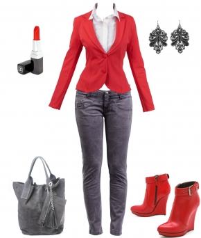 осенный образ Elfina, тренды осень 2014, офисный стиль, интернет-магазин готовые образы