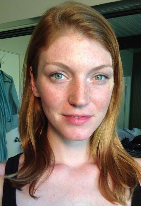 до и после макияжа, подборка фото, хороший макияж, новости моды 2014