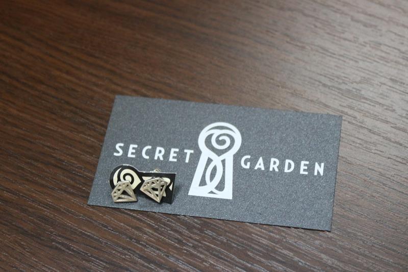 Сережки серебряные, Secret Garden, купить сережки серебряные