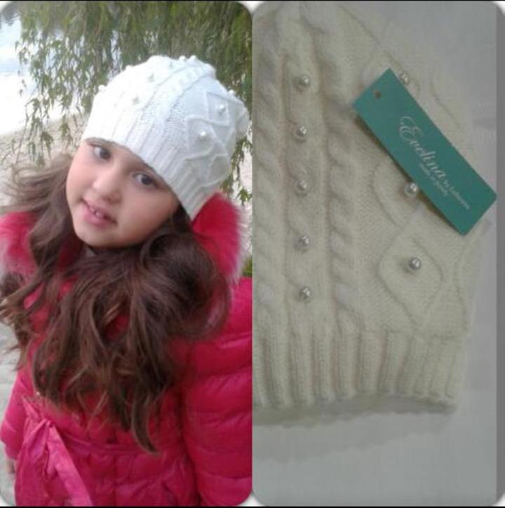 evelina, шапочка, подарок, розыгрыш, Розыгрыш шапочка для девочек