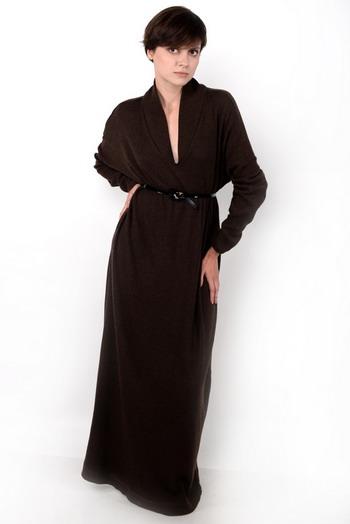 Платье коричневое, Елена Зуб, AzEz, купить платье