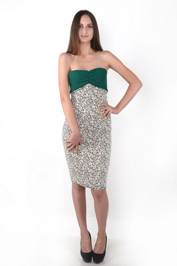 Платье коктейльное, платье из трикотажа, Елена Зуб, AzEz, купить платье, madeinukraine