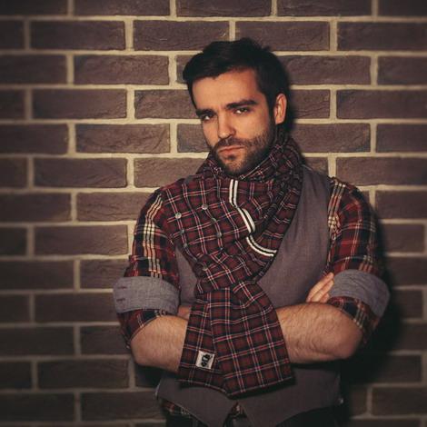Шарф шотлансдкий, шарф, купить шарф, Hard Voice, подарок, подарок для мужчин