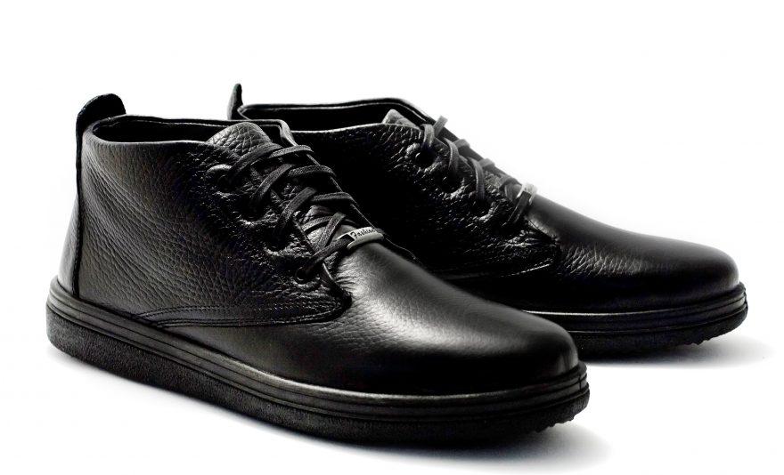 12104-00701 Утепленные ботинки (кожа) Pilgrim купить мужскую обувь Украина