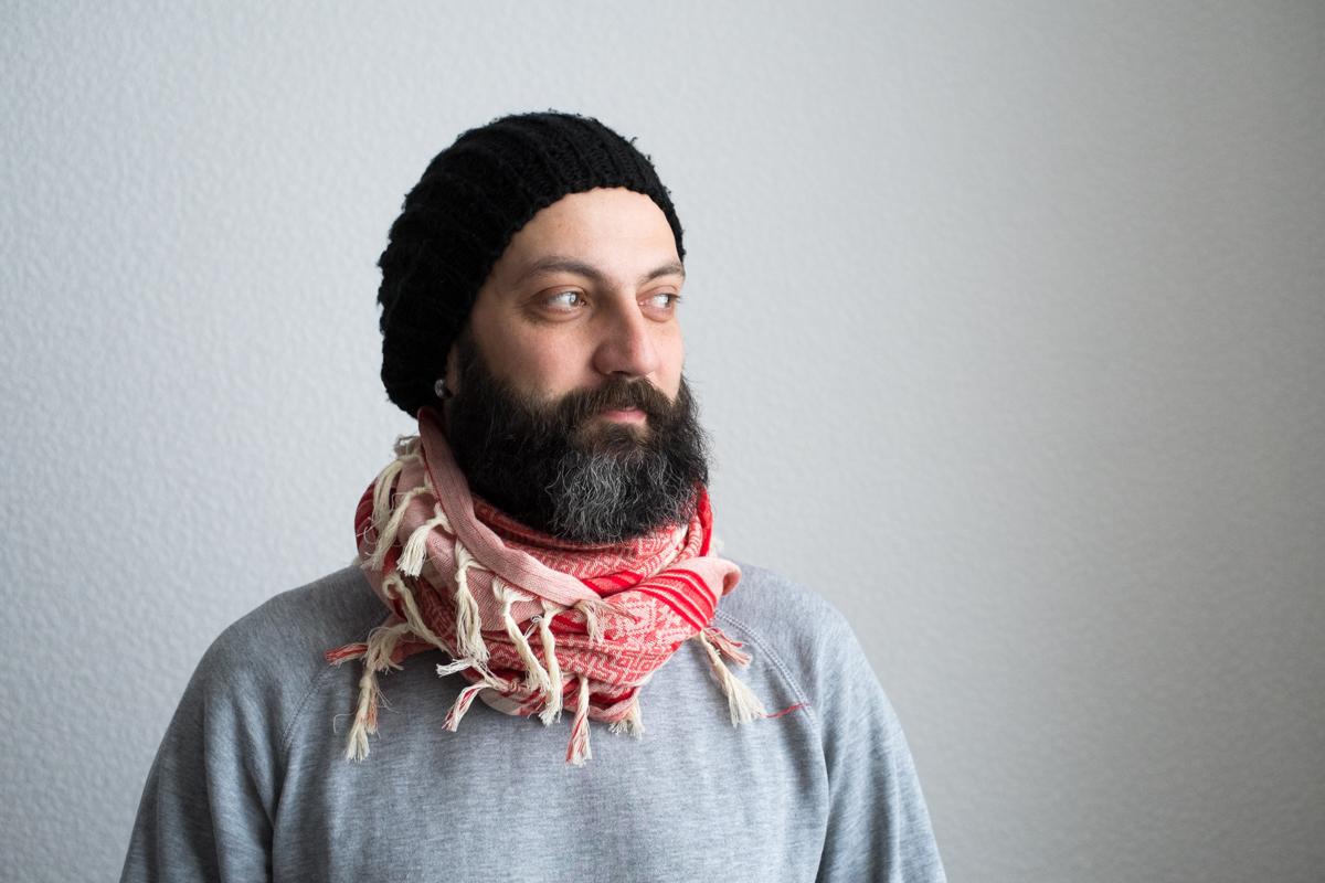 Арафатка Беж Красный Намитка, намитка украина, платок шейный украина купить, купить арафатку украина, арафатка купить, платок хлопок