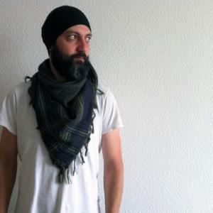Арафатка Синий Хаки Намитка, намитка украина, платок шейный украина купить, купить арафатку украина, арафатка купить, платок хлопок