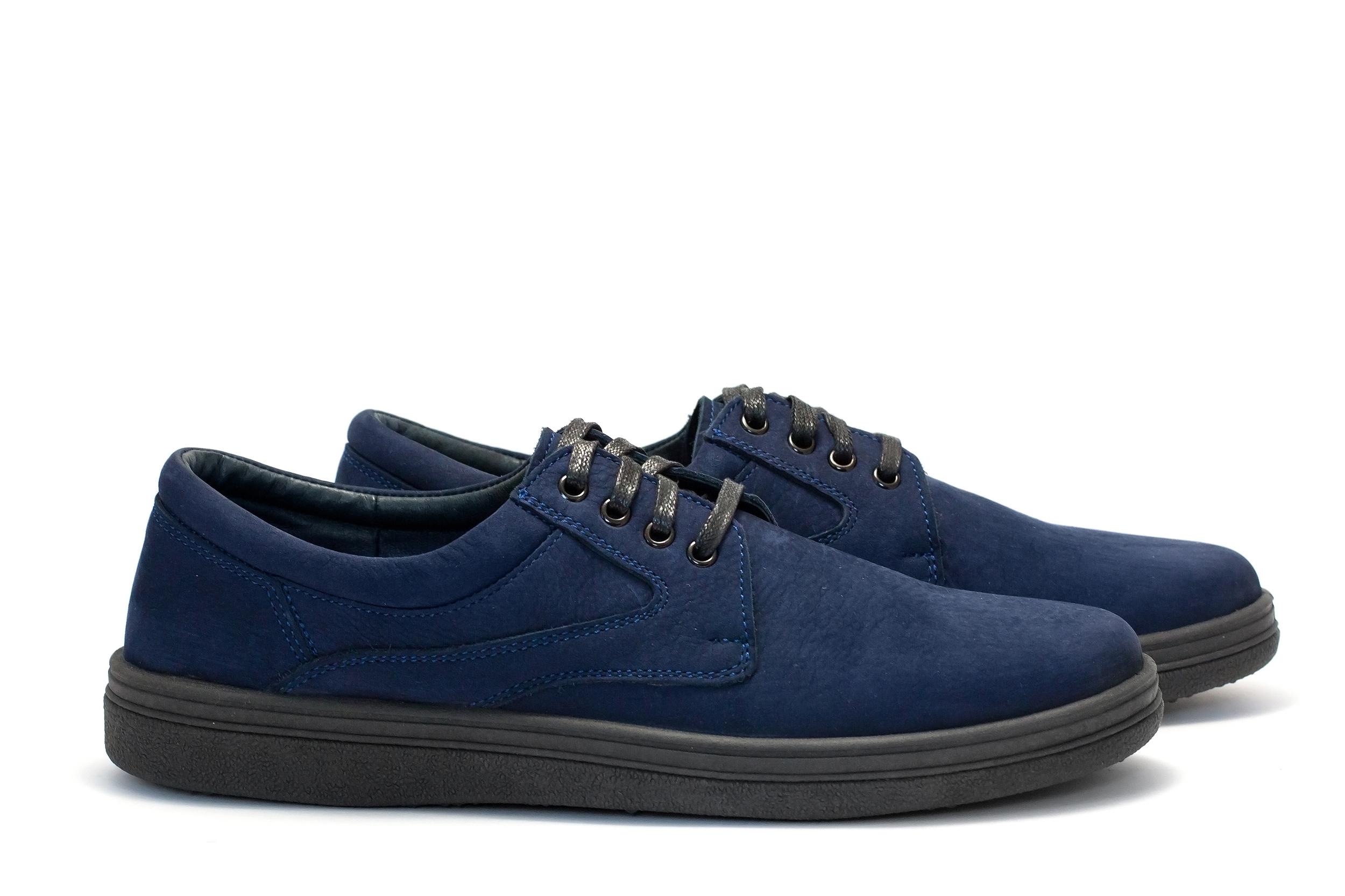 11302-00805 Туфли casual classic (нубук) Pilgrim, купить мужскую обувь Украина, обувь мужская