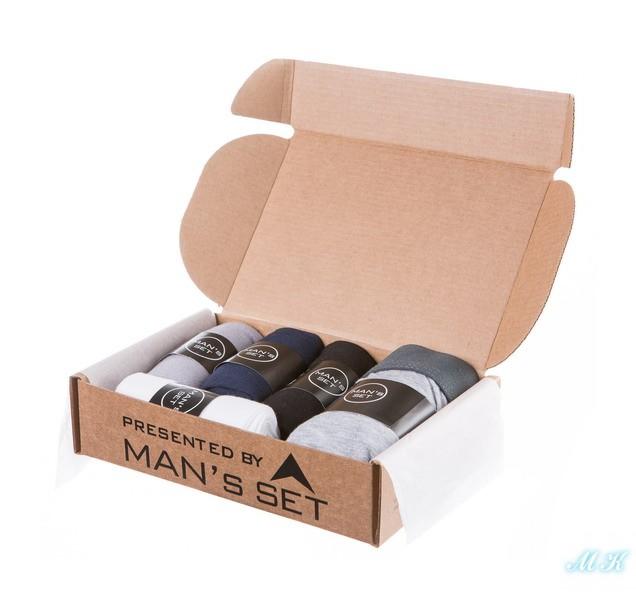 Комплект боксеров и носков MAN`s SET Medium купить мужские трусы боксеры носки