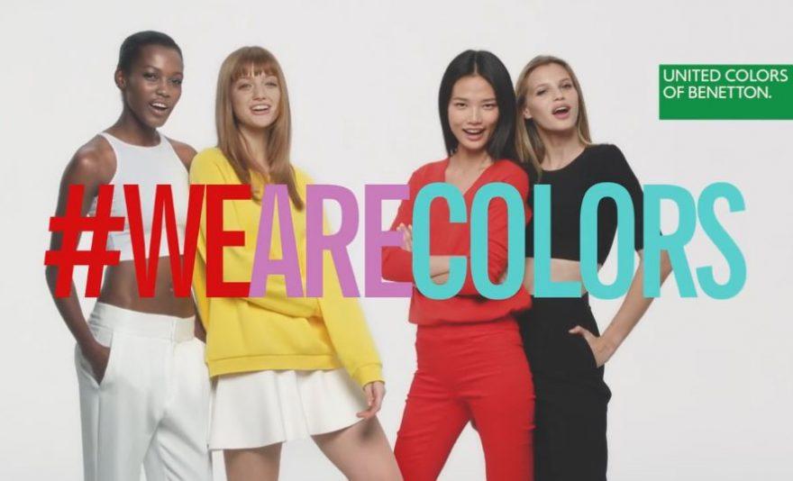 Реклама парфюмерии от United Colors of Benetton