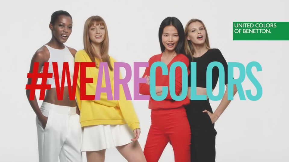 united colors of benetton modna ForBenetton We Are Colors