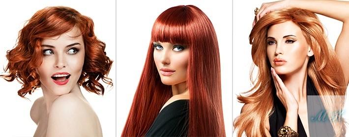 Как подобрать цвет волос, яркие цвета волос