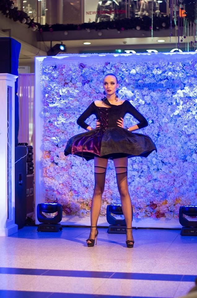 Кира Строгетских, Christmas fashion show 2017