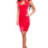 Платье Снежана Красный Karree