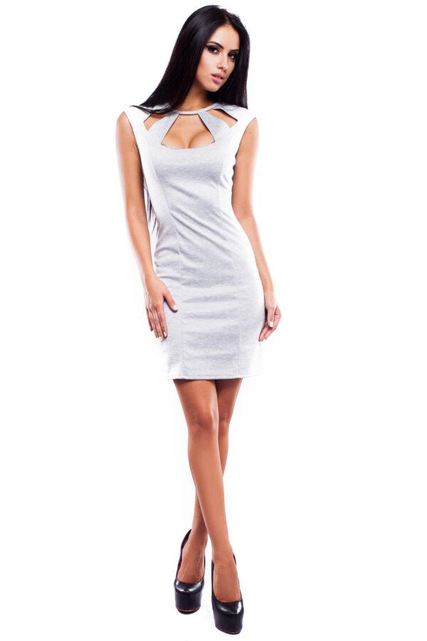 Платье Снежана Серый Karree