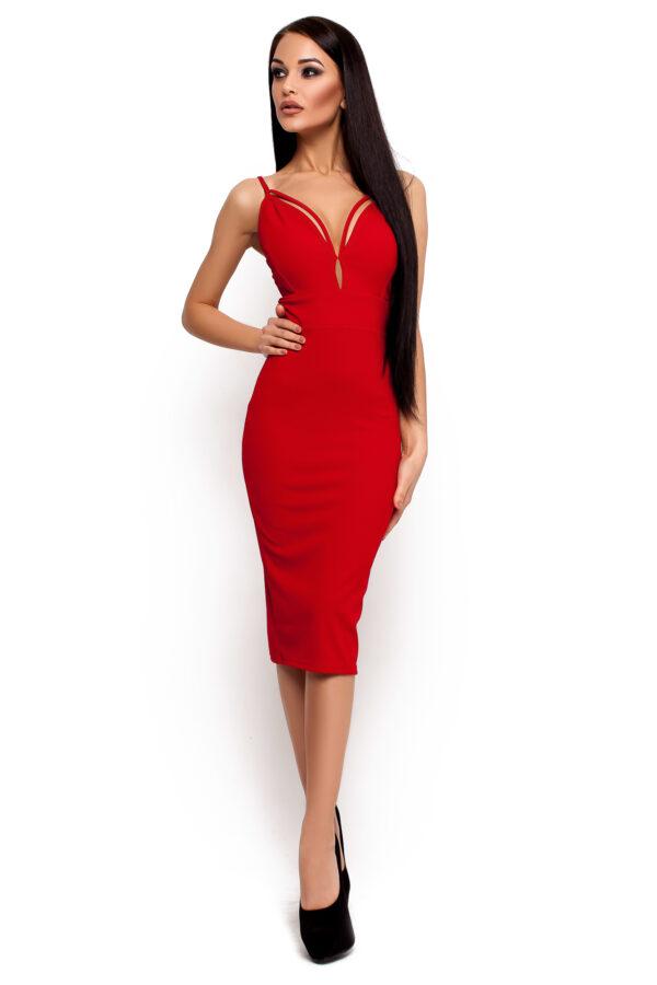 Платье Ривьера Красный Karree