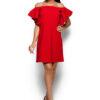 Платье Иллюзия Красный Karree