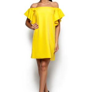 Платье Иллюзия Желтый Karree купить Платье