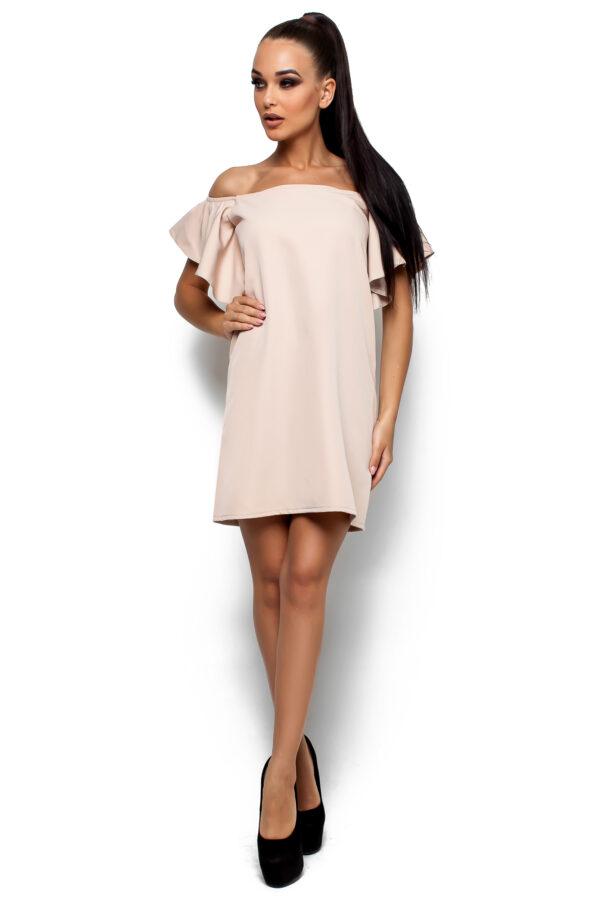 Платье Иллюзия Бежевый Karree