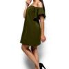 Платье Иллюзия Оливковый Karree