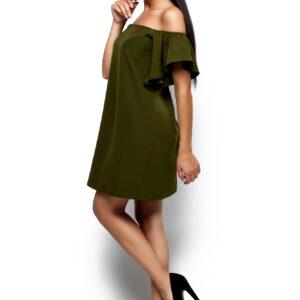 Платье Иллюзия Оливковый Karree купить Платье