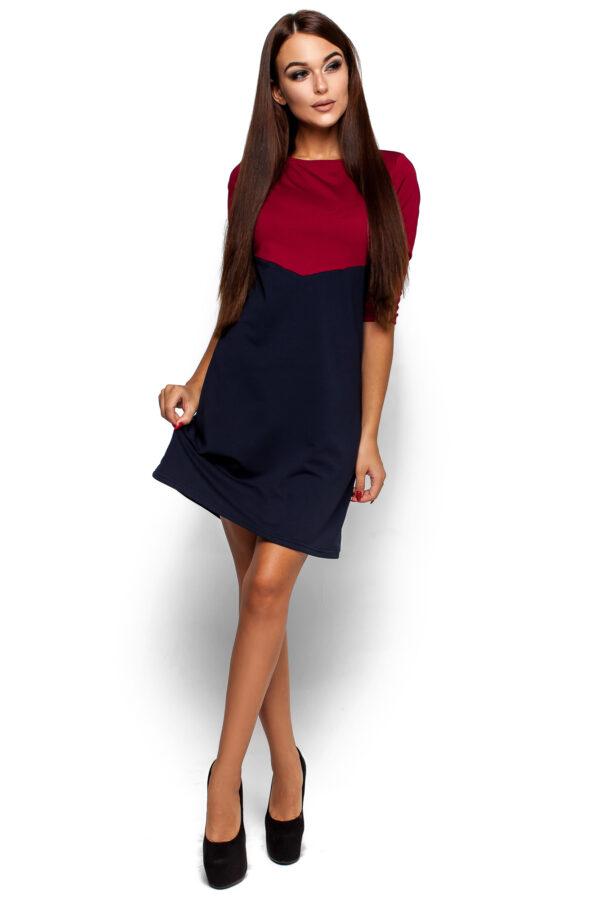 Платье Эшли Марсала Karree