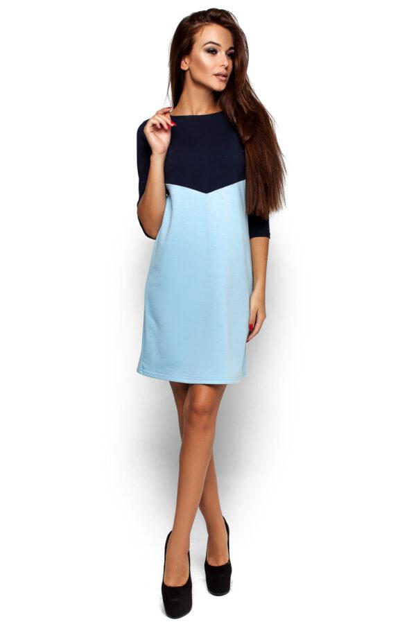 Платье Эшли Темно-синий Karree