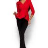 Блуза Касио Красный Karree