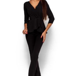 Блуза Касио Черный Karree купить Блуза