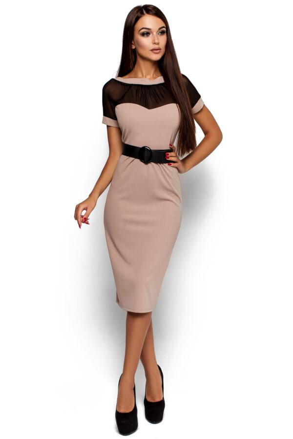 Платье Данди Бежевый Karree