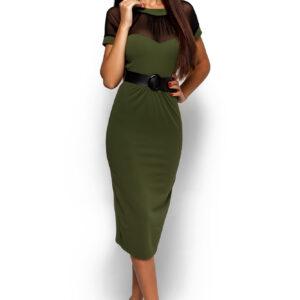 Платье Данди Оливковый Karree купить Платье