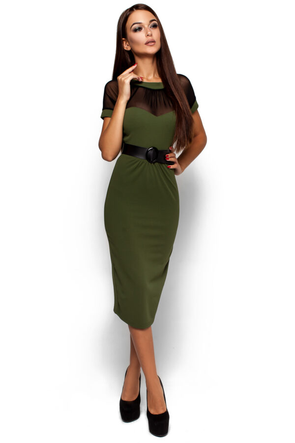 Платье Данди Оливковый Karree
