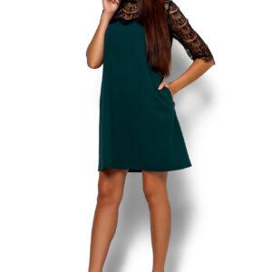 Платье  Ангола Темно-зеленый Karree купить Платье
